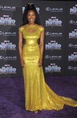 SYDELLE NOEL at Black Panther Premiere in Hollywood 01/29/2018