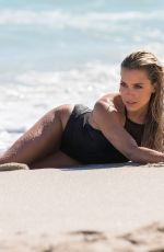 SYLVIE MEIS Sooting Her New Sylvie Designs Bikini Collection on the Beach in Miami 01/04/2018
