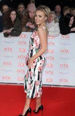 TALLIA STORM at National Television Awards in London 01/23/2018