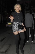 TALLIA STORMA Arrives at Mnky Hse in London 01/13/2018