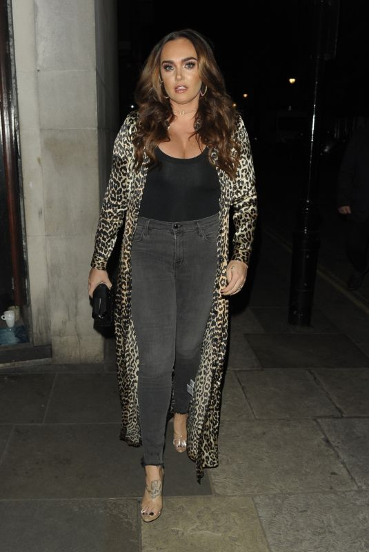 TAMARA ECCLESTONE Arrives at Zuma Restaurant in London 01/18/2018