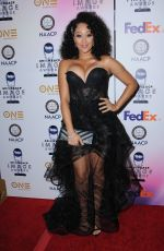 TAMERA MOWRY at 49th Naacp Image Awards in Pasadena 01/14/2018