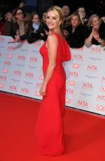 TAMZIN OUTHWAITE at National Television Awards in London 01/23/2018