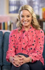 TAMZIN OUTHWAITE at This Morning Show in London 01/18/2018