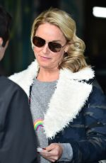 TAMZIN OUTHWAITE Leaves ITV Studio in London 01/18/2018