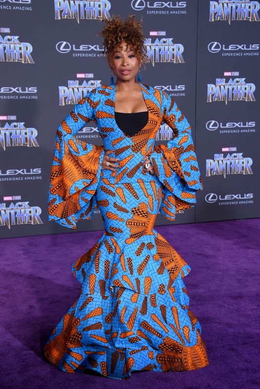 TANIKA RAY at Black Panther Premiere in Hollywood 01/29/2018