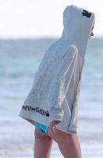 TARA REID in Bikini at a Beach in Tulum 01/04/2018
