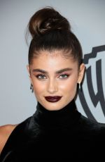 TAYLOR HILL at Instyle and Warner Bros Golden Globes After-party in Los Angeles 01/07/2018