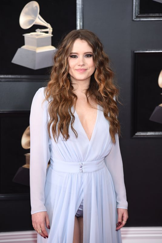 TAYLOR SPREITLER at Grammy 2018 Awards in New York 01/28/2018