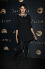 TEHMINA SUNNY at The Alienist Premiere in Los Angeles 01/11/2018