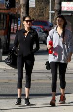 TERI HATCHER and EMERSON TENNEY Heading to a Gym in Los Angeles 01/10/2018