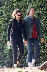 TERI HATCHER and EMERSON TENNEY Out Hikking in Los Angeles 01/15/2018