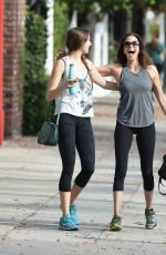 TERI HATCHER Heading to a Gym in Los Angeles 01/01/2018