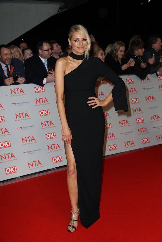 TESS DALY at National Television Awards in London 01/23/2018