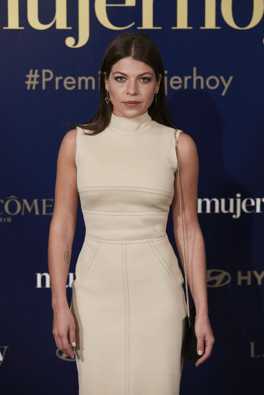THAIS BLUME at 9th Annual Mujer Hoy Awards in Madrid 01/30/2018