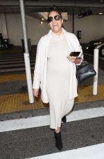 TIA MOWRY at LAX Airport in Los Angeles 01/26/2018