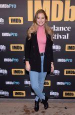 TIERA SKOVBYE at IMDB Studio at Sundance Film Festival in Park City 01/20/2018