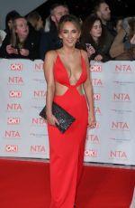 TIFFANY WATSON at National Television Awards in London 01/23/2018