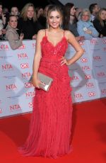 TILLY KEEPER at National Television Awards in London 01/23/2018