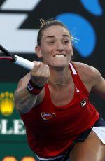 TIMEA BABOS at Australian Open Tennis Tournament in Melbourne 01/17/2018