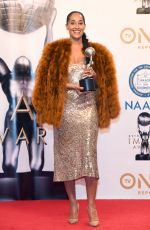 TRACEE ELLIS ROSS at 49th Naacp Image Awards in Pasadena 01/14/2018