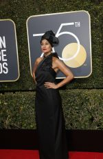 TRACEE ELLIS ROSS at 75th Annual Golden Globe Awards in Beverly Hills 01/07/2018