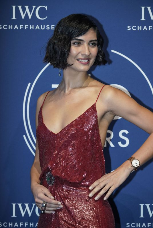 TUBA BUYUKUSTUN at IWC Schaffhausen Gala at SIHH 2018 in Geneva 01/16/2018