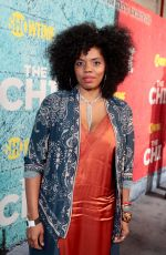 TYLA ABERCRUMBIE at The Chi Premiere in Los Angeles 01/03/2018
