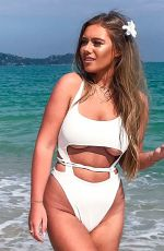 TYNE-LEXY CLARSON in Swimsuit on the Beach in Thailand 01/21/2018