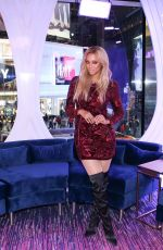 TYRA BANKS at MTV TRL in New York 01/09/2018