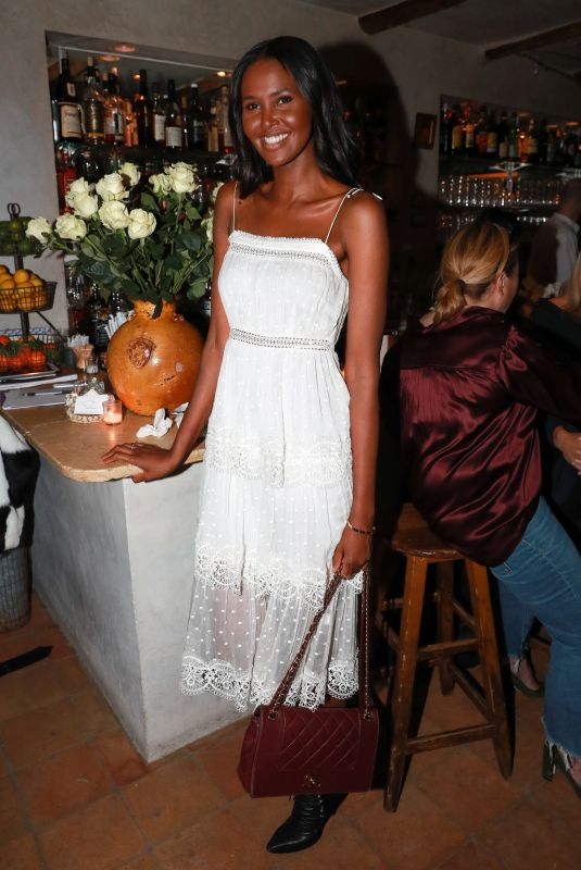 UBAH HASSAN at Aeriereal Role Models Dinner Party in New York 01/25/2018