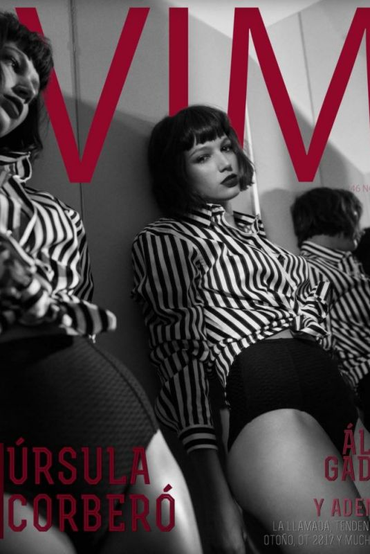 URSULA CORBERO in Vim Magazine, Spain November 2017 Issue