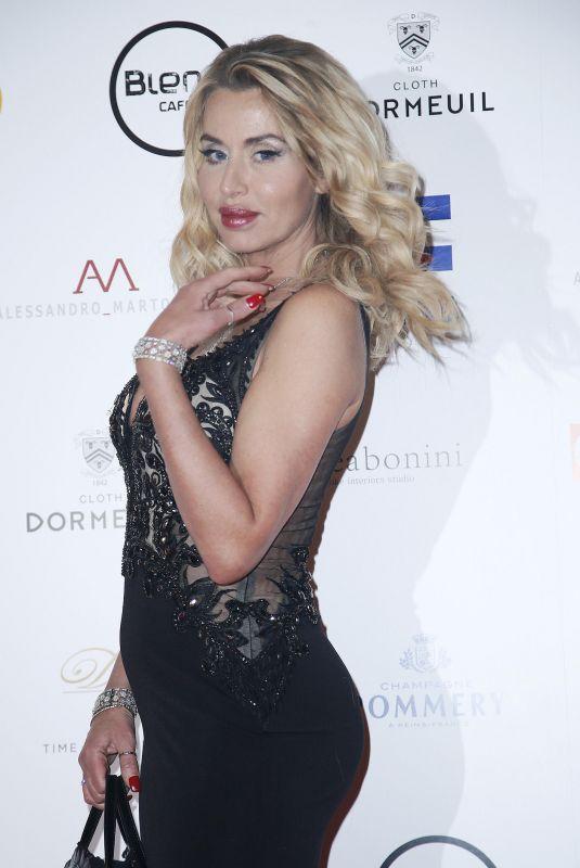 VALERIA MARINI at Alessandro Martorana 2018 Party in Milan 01/28/2018