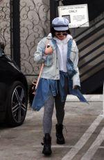 VANESSA HUDGENS at Nine Zero One Salon in West Hollywood 01/10/2018