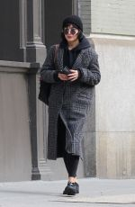 VANESSA HUDGENS Out in New York 01/29/2018