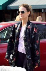 VANESSA PARADIS Shopping at Whole Foods in Studio City 01/16/2018