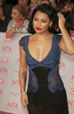 VANESSA WHITE at National Television Awards in London 01/23/2018