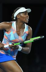 VENUS WILLIAMS at Australian Open Tennis Tournament in Melbourne 01/15/2018