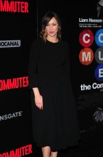 VERA FARMIGA at The Commuter Premiere in New York 01/08/2018