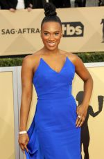 VICKY JEUDY at Screen Actors Guild Awards 2018 in Los Angeles 01/21/2018