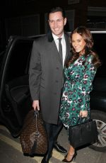 VICKY PATTISON and John Noble at Gaucho Club in London 01/16/2018