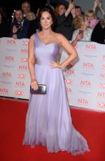 VICKY PATTISON at National Television Awards in London 01/23/2018