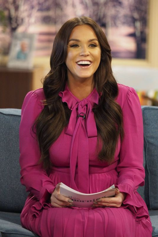 VICKY PATTISON at This Morning TV Show in London 01/17/2018