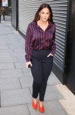 VICKY PATTISON at Wright Stuff Studios in London 01/30/2018