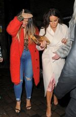VICKY PATTISON Leaves Stables Market at Camden in London 01/27/2018