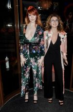 VICTORIA CLAY and EMILY WARBURTON at Modeling Agency Party in London 01/22/2018