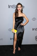 VICTORIA JUSTICE at Instyle and Warner Bros Golden Globes After-party in Los Angeles 01/07/2018
