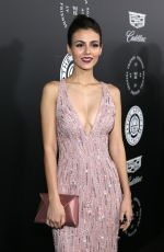VICTORIA JUSTICE at The Art of Elysium Heaven in Los Angeles 01/06/2018