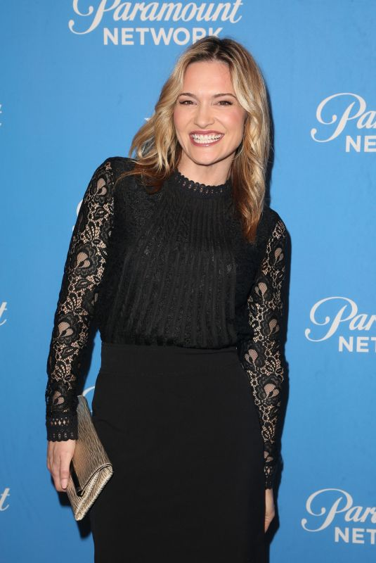 VICTORIA PRATT at Paramount Network Launch Party at Sunset Tower in Los Angeles 01/18/2018