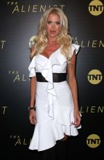 VICTORIA SILVSTEDT at The Alienist Premiere in New York 01/16/2018